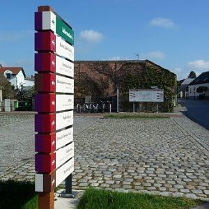 Leitsystem, Göttlesbrunn (AT) , 2013